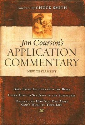 Courson's Application Commentary on the New Testament  - Slightly Imperfect  -