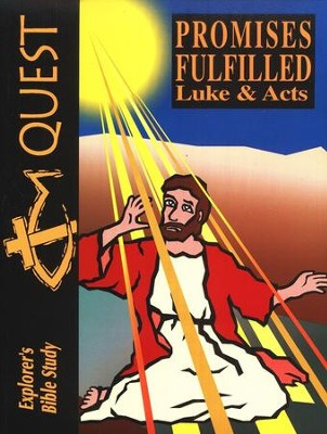 Bible Quest: Promises Fulfilled (Luke & Acts), Student Workbook   -