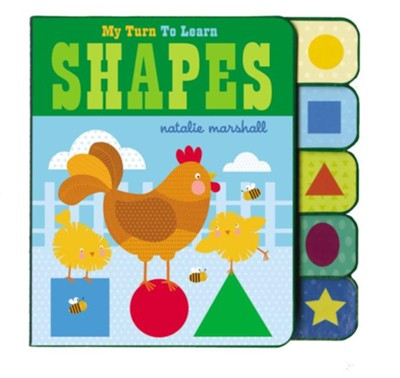 My Turn To Learn Shapes  -     By: Natalie Marshall