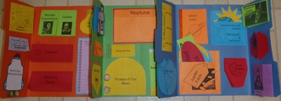 Astronomy Basics Lapbook (Assembled)  -     By: Cyndi Kinney