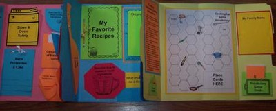Cooking Basics Lapbook (Assembled)  -     By: Cyndi Kinney, Shelby Kinney