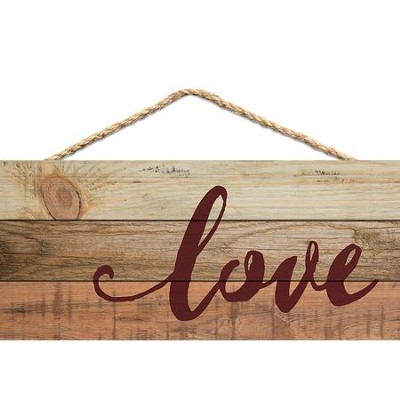 Love, Hanging Sign  -
