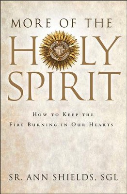 More of the Holy Spirit: How to Keep the Fire Burning in Our Hearts  -     By: Ann Shields