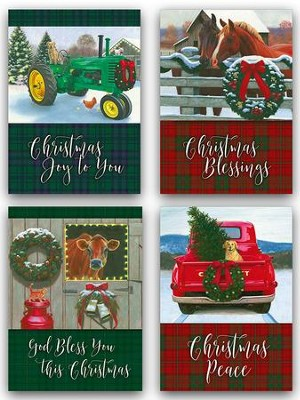 Christmas In The Heartland.Christmas In The Heartland Assorted Christmas Cards Box Of 12
