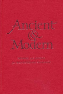 Ancient & Modern Large Print Words  -     By: Hymns Ancient and Modern