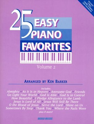 25 Easy Piano Favorites 2   -