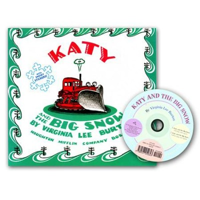 Katy and the Big Snow Book and CD   -     By: Virginia Lee Burton