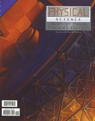 BJU Physical Science Lab Manual Teacher's Edition Grade 9   -