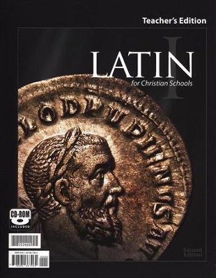 BJU Latin 1 Teacher's Edition with Audio CD, Second Edition    -