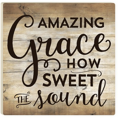 Amazing Grace, How Sweet the Sound Trivet  -