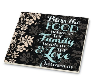 Bless the Food Before Us Trivet  -