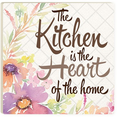 The Kitchen Is the Heart Of the Home Trivet  -