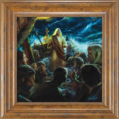 Even the Seas Obey Framed Art  -