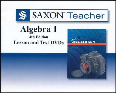 Saxon teacher for algebra 1 4th edition on dvd rom 9780544253193 saxon teacher for algebra 1 4th edition on dvd rom fandeluxe Choice Image