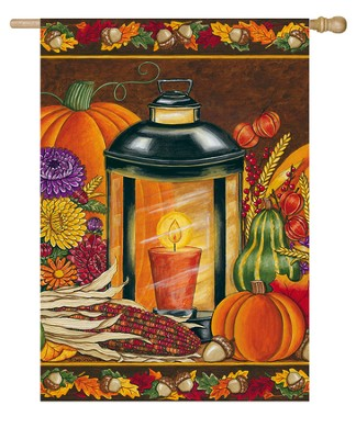 Fall Lantern Flag, Large  -     By: Deb Strain