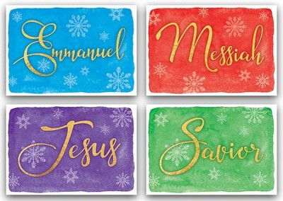 Messiah, Assorted Christmas Cards, Box of 12  -