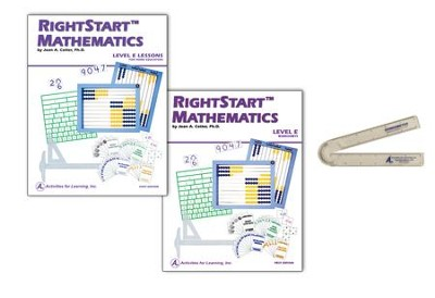 Rightstart Mathmatics D to E Add-On Kit, 1st Edition   -     By: Joan A. Cotter