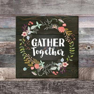 Gather Together Trivet, Large  -
