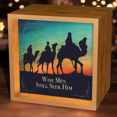 Wise Men Still Seek Him, Light Box  -