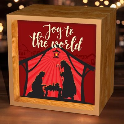 Joy to the World, Light Box  -