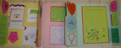 Valentine's Day Lapbook (Assembled)  -     By: Cyndi Kinney