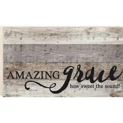 Amazing Grace, Pallet Wall Art  -