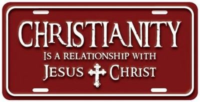 Christianity 2 License Plate  -