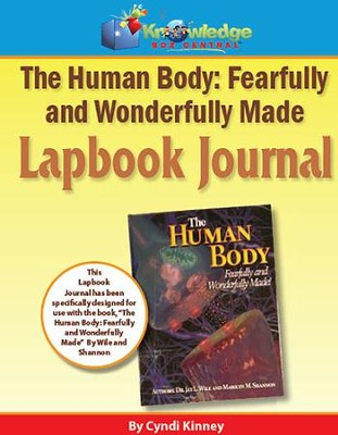 Apologia Human Body: Fearfully & Wonderfully Made 1st Edition Lapbook Journal (Printed)  -     By: Cyndi Kinney
