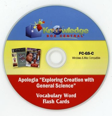 Apologia Exploring Creation With General Science (1st & 2nd Editions) Vocabulary Word Flash Cards PDF CD-ROM  -     By: Cyndi Kinney, Shelby Kinney
