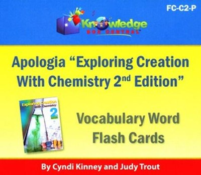 Apologia Exploring Creation With Chemistry (2nd Edition) Vocabulary Word Flash Cards (Printed)  -     By: Cyndi Kinney, Judy Trout