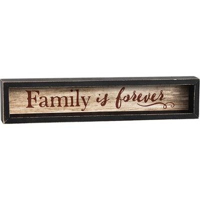 Family Is Forever Shadowbox  -