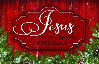 Jesus is the Reason Christmas Cards, Box of 18 -
