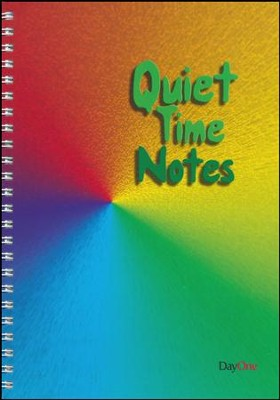 Quiet Time Notes  -     By: Tirzah Jones