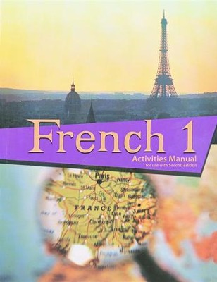 BJU French 1 Student Activities Manual, Second Edition    -