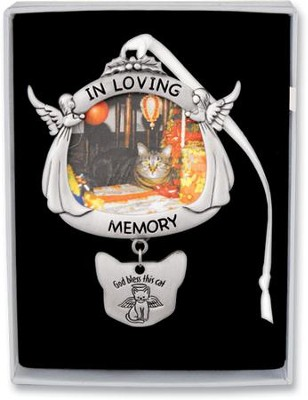 Cat Memorial Ornament  -