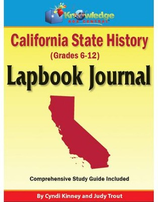 California State History Lapbook (Assembled)  -     By: Cyndi Kinney