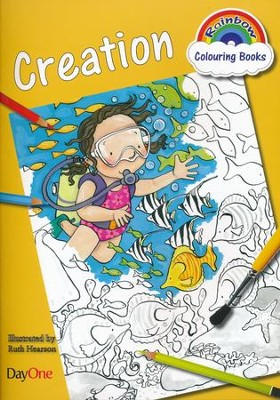 Rainbow Colouring Book: Creation  -     By: Ruth Hearson