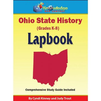 Ohio State History Lapbook (Assembled)  -     By: Cyndi Kinney