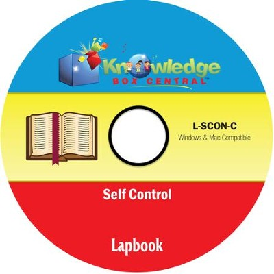 Self-Control Lapbook PDF CD-ROM   -     By: Candie Donner