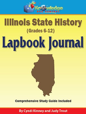 Illinois State History Lapbook Journal (Printed)  -     By: Cyndi Kinney