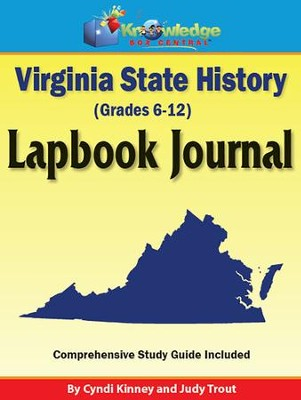 Virginia State History Lapbook Journal (Printed)  -     By: Cyndi Kinney