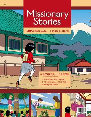 Missionary Stories Flash-a-Card Set   -