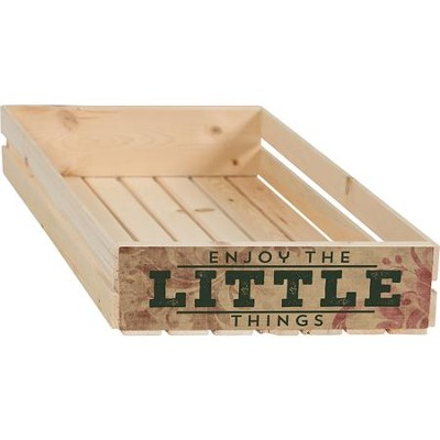Enjoy the Little Things Crate  -