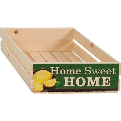 Home Sweet Home Crate  -
