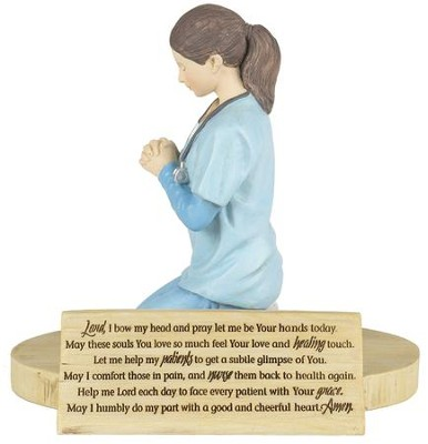 Nurse's Prayer Figure  -