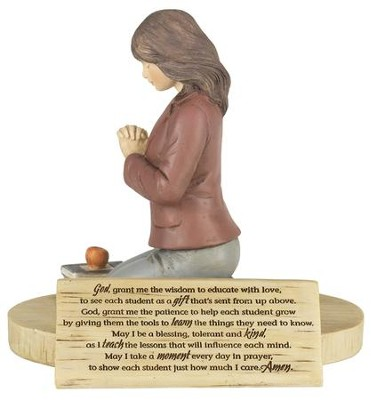 Teacher's Prayer Figure  -