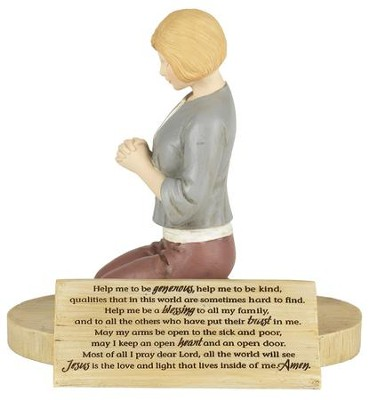 The Woman of God's Prayer Figure  -