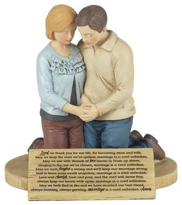 Couple's Prayer, A Cord Unbroken, Prayer Figure  -