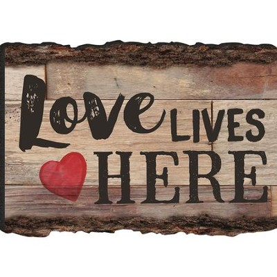 Love Lives Here Magnet  -