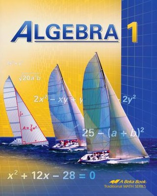 Abeka Algebra 1 (Updated Edition)   -
